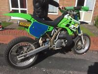 Kawasaki kx500 super moto very rare not yz,cr500 ktm rm husaberg