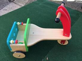ELC wooden trike Early Learning Centre