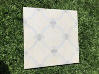 Fired Earth glazed ceramic tiles patisserie eclair design