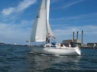 SEAMASTER 925 30' sailing cruiser £7500 massive reduction.GREAT STARTER BOAT