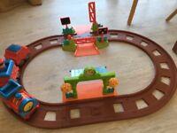 Happyland train track and train