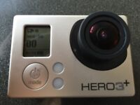 GoPro Hero 3+ Plus Silver Edition including battery bundle