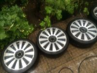 3 VW/Audi RS8 RIMS FOR SALE. NEED RECONDITIONING AND TYRES.