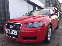 Audi A3 1.6 Sportback 5dr ONLY 49296 GENUINE MILES