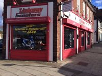 MOTORCYCLE SCOOTER MECHANIC WANTED BROMLEY KENT.. IMMEDIATE START