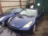 2004 TOYOTA CELICA FACELIFT MODEL 1.8 VVTi MANUAL BREAKING FOR PARTS 140 BHP 1ZZFE ENGINE TYPE