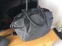Chestnut Tweed Nappy Bag. - Armadillo, Urbo2