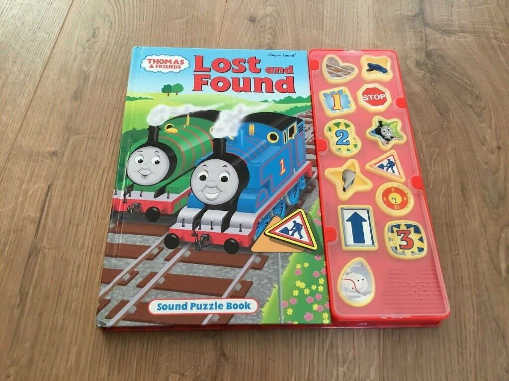 Thomas Tank Engine, lost and found sound book