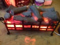 Log effect electric Fire / Heater