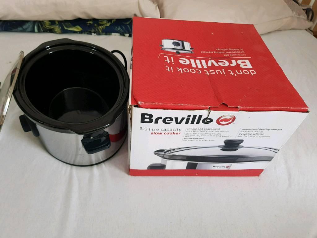 Breville ITP136 Slow Cooker3.5 litrein Aberdeen - Breville ITP136 Slow Cooker ‑ 3.5 litre. Used just once, its almost new