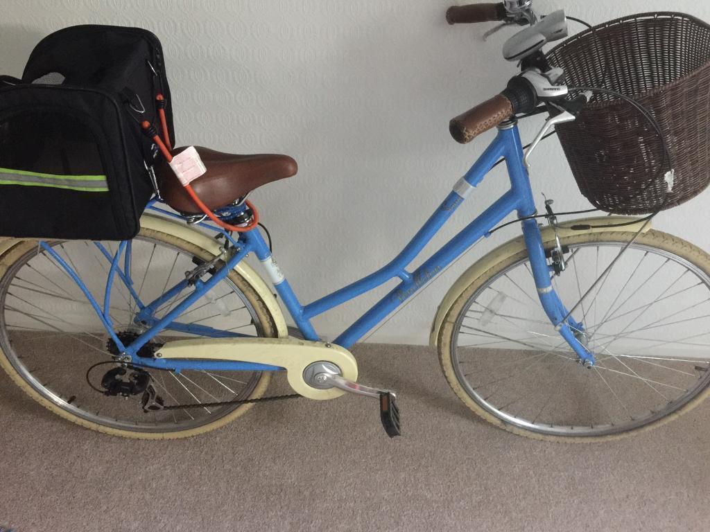 Victoria Pendleton Vintage Bike