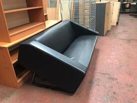 Leatherette Sofa - Large