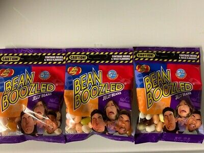 3x Jelly Belly Bean Boozled Beans Tüte 54g Bertie Botts Harry Potter 5th edition ()