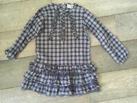Danish Designer Dress. Minature. Bargain- selling for £6. Was £34. Age 7yrs