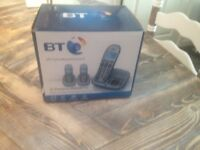 Bt home phones set of three