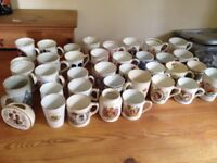 Collection of Commemorative Mugs