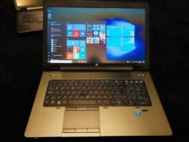 "Hp ZBook 17 17.3"" Core i7-4700MQ 16Gb Ram Workstation 17.3"""