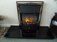 Dimplex Chalbury electric fire including marble hearth