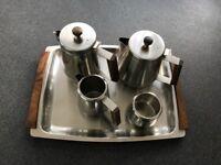 Vintage Radmore stainless steel tea set