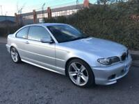 ***BMW 325 CI SPORT FULL SERV HIST+LEATHERS+ALLOYS+PARKING SENSORS***£2250!