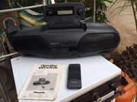 Panasonic double cassette, with auto reverse recording