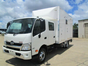 Hino 921- 300 Series Dual cab Service Body Glanmire Gympie Area Preview
