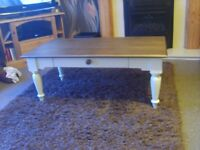 MARKS & SPENCERS COFFEE TABLE (NEW)