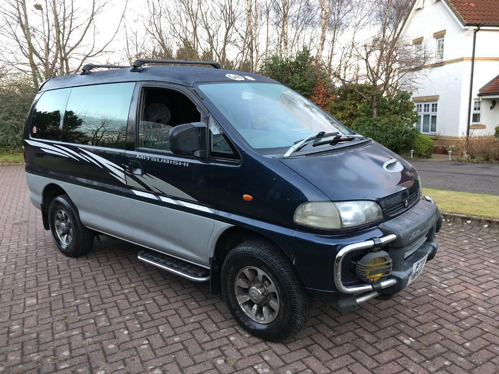 Mitsubishi Delica 28 Turbo Diesel Automatic 7 Seater Camper Van 11 Month Mot