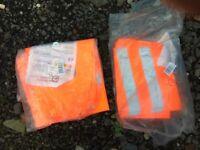 For Sale 2x pairs of orange waterproof trousers