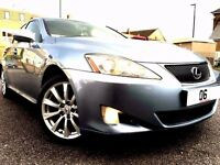 LEXUS IS 220D SE 175BHP,HUGE SPEC FULL LEATHER INTERIOR,PARKING SENSORS,3 MONTH WARRANTY,P/X WELCOME