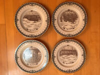 Sarisbury Green Limited Edition Collector Plates - Set of 4 Plates