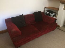 Large Comfy Sofa, free to collect