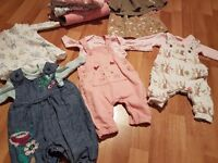 0 -3 months baby girls clothes bundle
