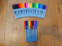 Sharpies and Fine Tip Edding55 Superior Quality Pens