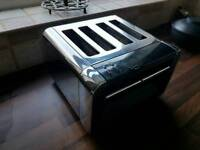 4 slice toaster chrome
