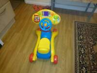 Baby scooter VTech grow and go ride on