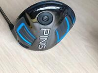 PING G Driver with Tour 65 shaft