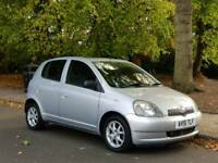TOYOTA YARIS AUTOMATIC 5DOOR 1 OWNER 58000 WARRANTED MILE 14SERVICES MOT TILL 10/10/2018 HPI CLEAR