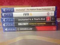 PS4 games bundle