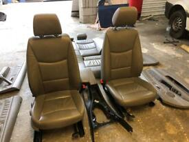 BMW E90 3 SERIES SE FULL GREY LEATHER SEATS