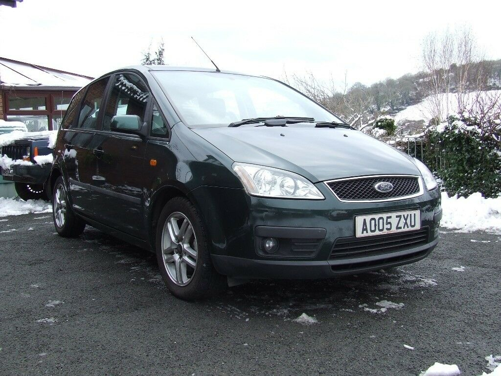 sold sold sold ford focus c max zetec 1 6 tdci diesel automatic 2005 05 plate in brixham. Black Bedroom Furniture Sets. Home Design Ideas