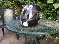 X-LITE X 601 crash helmet. Medium size. As new, hardly used. £35