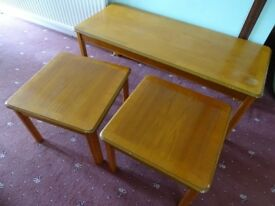 Nest of three occasional tables