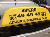 Taxi / private Hire Vehicle's roof Sign