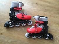 Kids inline skates - size 2-4