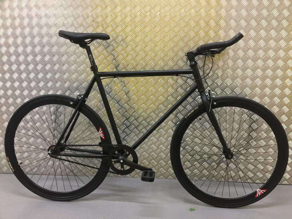 Brand new 2017 single speed /fixed gear road bike hybrid racing racer bicycle