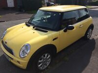 Lovely Yellow Mini Cooper S for sale