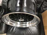 "BBS RS style brand new Alloy wheels 16"" inch x 9j 4x100 Vauxhall meriva vectra BMW E30 alloys wheel"