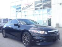 2011 Honda Accord REAL HFP EDITION COUPE - LEATHER AND SUNROOF A