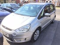 07873 638269 STILL FOR SALE- 2006 Ford S-MAX 1.8 TDCI 125 LX – 7 Seater –